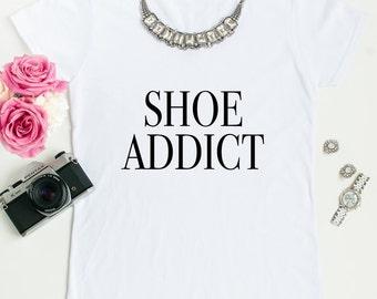 Shoe addict tees.