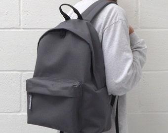 Minimalist Backpack Dark Grey