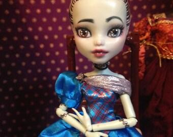 OOAK Custom Cinderella Threadarella Mattel MH Monster High Frankie Stein Doll Repaint