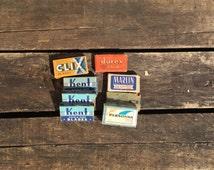 Vintage Double Edge Razor Blades, Kent, Marlin, Durex, Clix, Smith and Persona double edge razor Blades