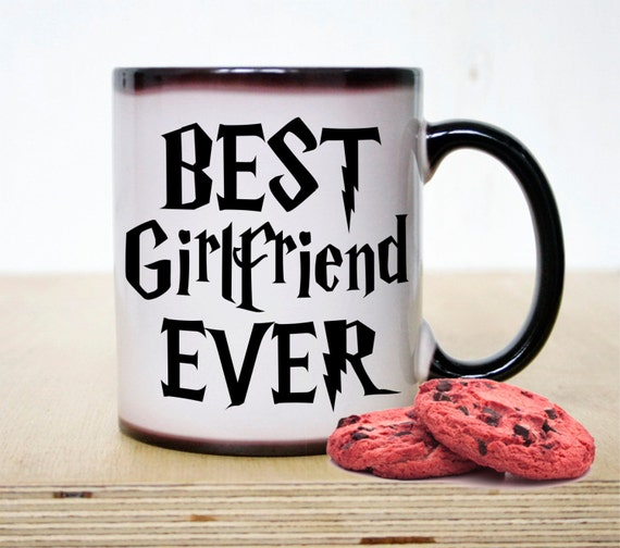 Best girlfriend ever mug coffee mug girlfriend mug color Best coffee cups ever