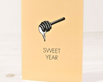 Sweet Year - Jewish New Year Greeting Cards, Box of 6