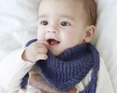 Sciarpa da Bimbo lavorata a maglia, Sciarpa Neonato, Sciarpa Bandana Bimbo, idea regalo Battesimo, idea regalo Nascita 100% Baby Alpaca