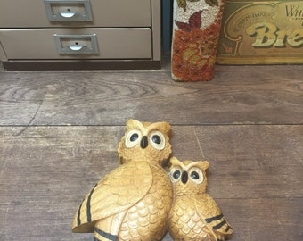 Vintage Owl Wall Hanging Wall Decor hippy hippie earthy
