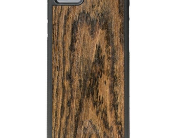 Apple iPhone 6 / 6s - Real Wood Case - Dark Rose