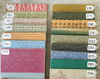 More Cover Choices for Hand-Sewn Vintage Journals - See other listings to browse all covers