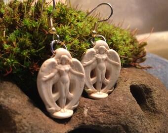 Peace Angel earrings