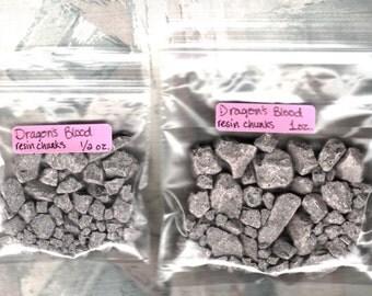 1/2 ounce or 1 ounce   Dragon's Blood resin chunks    (1/2 oz  or  1 oz)