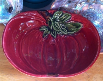 Olfaire Vintage Majolica Beet Bowl - Made in Portugal