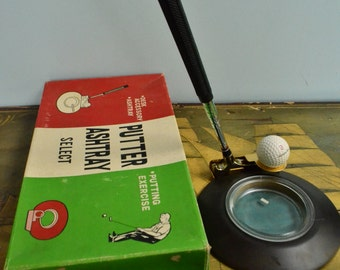 SALE 60's Putter Ashtray Select
