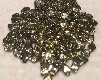 Dragon Scale Beads 1.5x5mm Crystal AB by PoppyAndGenesBeadery