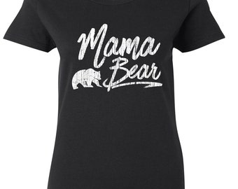 Mama Bear Shirt, Momma Bear, New Mom Gift, Baby Bear, Mama Bear Tshirt, Mother's Day Gift