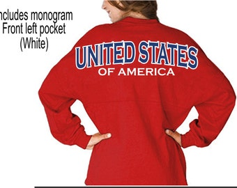SPECIAL EDITION - USA Jersey - Memorial Jersey - Spirit Jersey - J America Jersey - 4th of July Jersey
