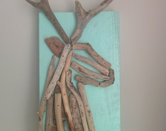 Wall decoration - Mr.Cerf Turquoise