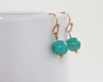 Rivkah Turquoise Earrings