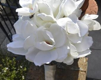 Magnolia Blossom Bridal  Bouquet