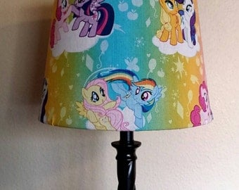 My Little Pony Inspired: MLP Lamp Shade
