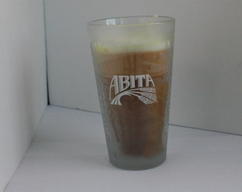 Oatmeal Stout Beer Glass Candle