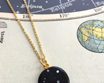 LIBRA constellation star sign necklace