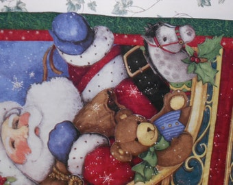 Believe Christmas quilted wall hanging