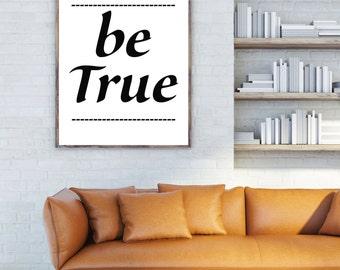 TYPOGRAPHY PRINT, printanble ( be true )
