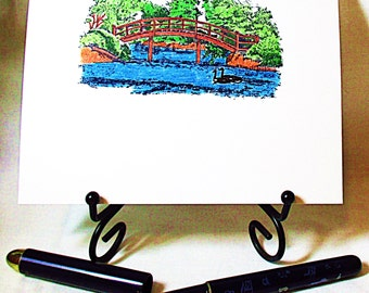 Bridge Note Card