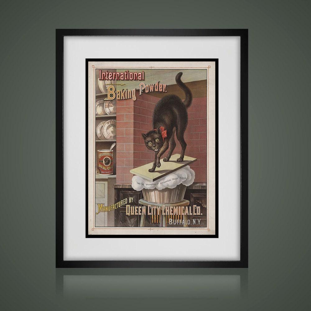 Framed Wall Art Vintage Advertising Print Wall Art