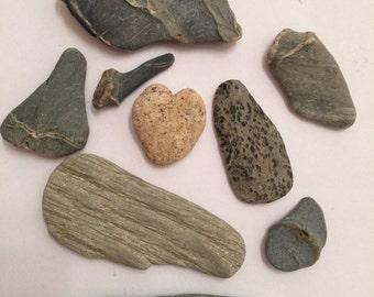 Beach Pebbles, Beach Stones, Sea Pebbles, Sea Stones, Cute Shaped Beach Stones