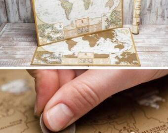 Push Pin Travel Map, Push Pin World Map, World Push Pin Travel Map, Push Pin Map, Travel Map with Pins, World Map with Pins, Pin It Map DIY