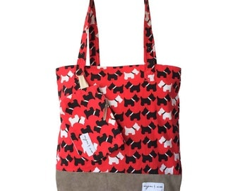 Uju & co. Tote Bag - Dog Walking