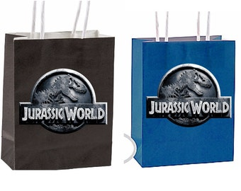 Jurassic world Party Favor Bag Printable Instant Download