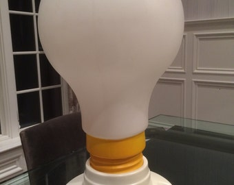 Rare!! Le Bulb Mid Century Modern Lightbulb Lamp - Retro Pop Art