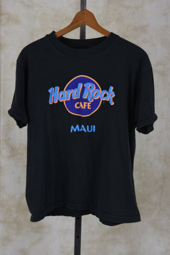 hard rock shirt 90s x large hard rock cafe shirt. Black Bedroom Furniture Sets. Home Design Ideas