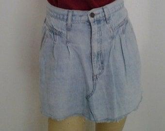 Denim Skirt 002