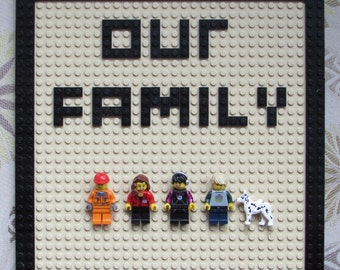 Our Family - Your family in LEGO® bricks