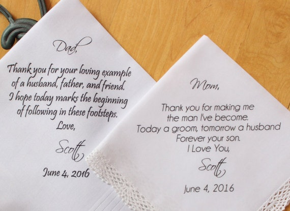 Wedding Gifts For Parents Handkerchief : ... Gifts Guest Books Portraits & Frames Wedding Favors All Gifts