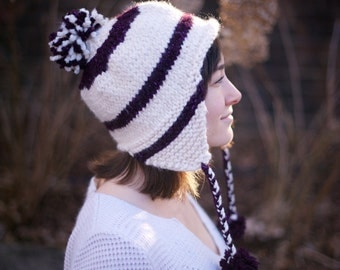 Warm and Cozy Knit Hat S/M