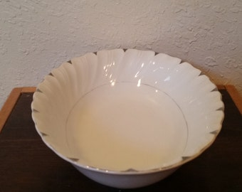 vegetable serving dish by heirloom china/heirloom china 3512/heirloom china/vintage serving bowl/ceramic serving bowl