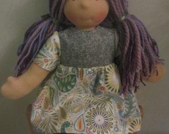 "Handmade Waldorfdoll Waldorf Inspired Cloth Wool Doll ""Freya"" ***SALE***"