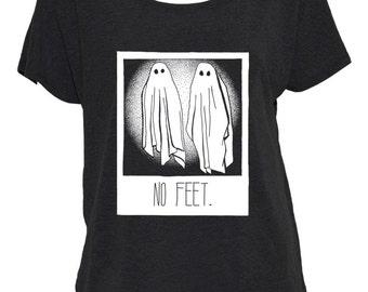 No Feet Off-The-Shoulder Shirt
