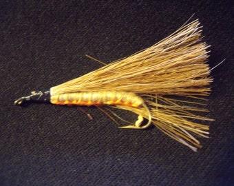Caddis Larva Nyph #10 Hook Wet Fly