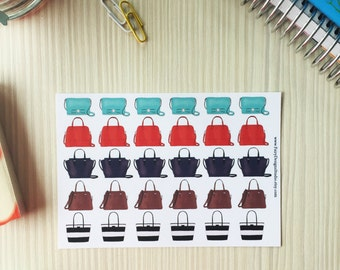 Handbags Planner Stickers