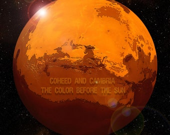 Coheed and Cambria Here to Mars Print