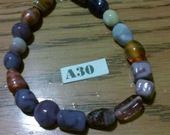 Muti - Color Nature Stone Anklet
