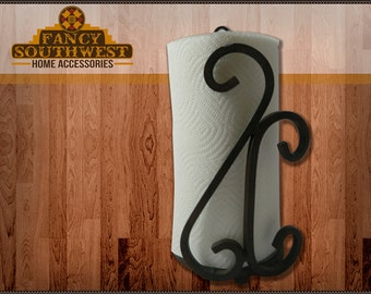Wrought Iron Kitchen Paper Towel Holder