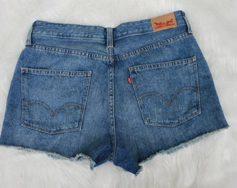Vintage Women's Levi Jean Shorts / High Waisted Levi's / High Waisted Levi's Shorts / Levi's Mom Jeans