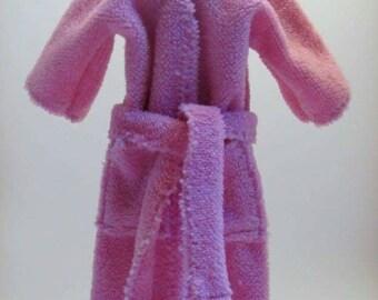 Pink Fluffy Robe