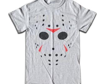 Hockey Mask T Shirt - Retro Tees for Men, Women & Children (All Colors) Sport, Mask, Retro