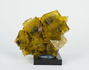 New!!! Yellow  Fluorite Specimen