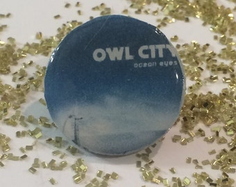 Owl City: Ocean Eyes Pin